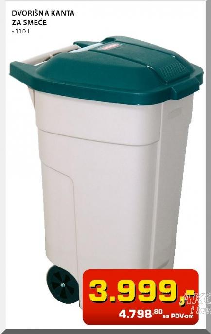 Dvorišna kanta za smeće