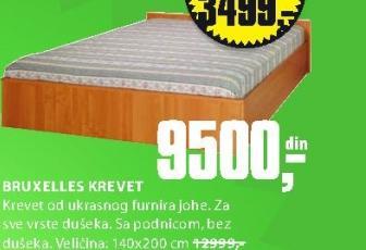 Krevet Bruxelles