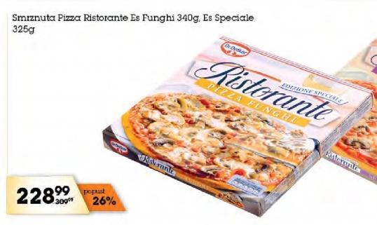 Smrznuta pizza es funghi