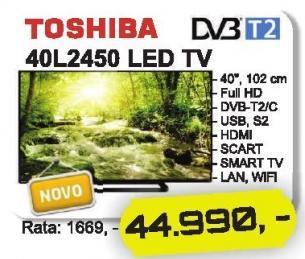 """Televizor LED 40"""" 40l2450"""