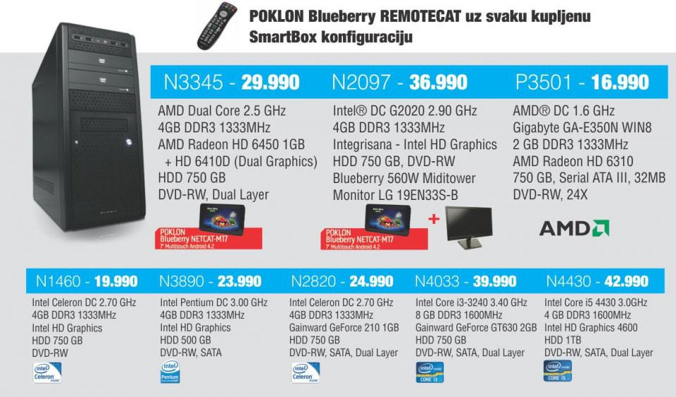Desktop racunar N2097+poklon tablet Blubery