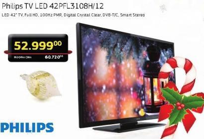 Televizor LED LCD 42PFL3108H/12