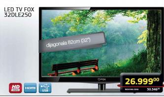 """Televizor TV 32"""" LED 32DLE250"""