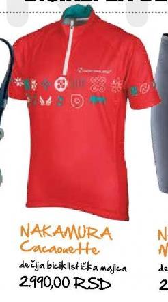 Dečija biciklistička majica Nakamura Cacaonette