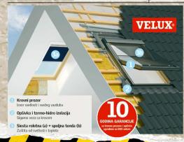 Svetlosni otvor VLT025, Velux