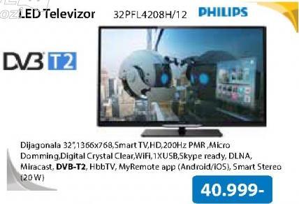 "Televizor LED 32"" 32PFL4208H/12"