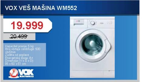 Mašina Za Veš Wm552