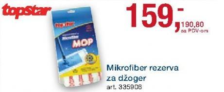 Mikrofiber rezerva za džoger