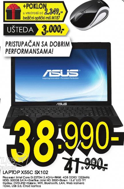 Laptop X55C-SX102
