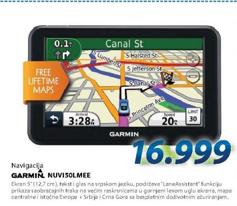 Navigacija NUVI50LMEE