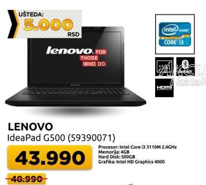 Laptop IdeaPad G500 59390071