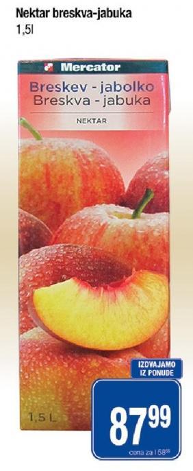 Sok breskva i jabuka