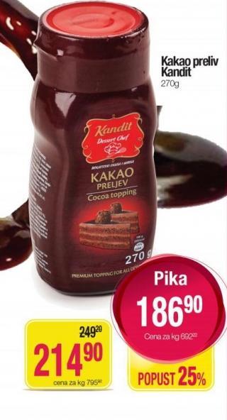 Preliv kakao