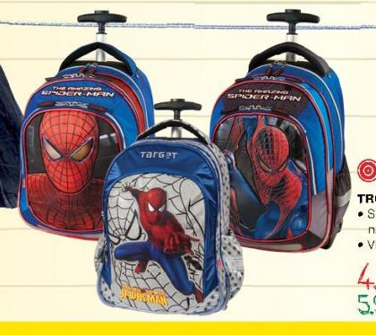 Troler ranac Spiderman, Target