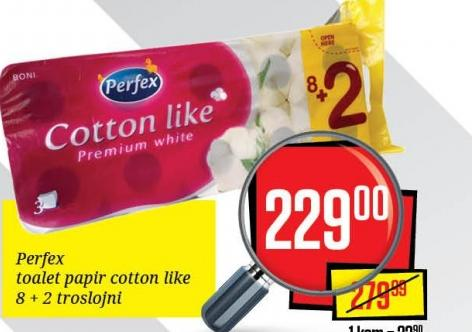 Toalet papir 3sl cotton like