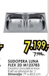 Sudopera Luna Flex 2D M123783