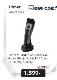 Mašinica za šišanje HSM/R3313