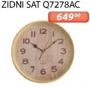 Zidni sat Q7278ac