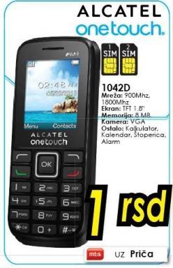 Mobilni telefon Onetouch 1042d