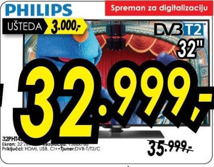 "Televizor LED 32"" 32pht"