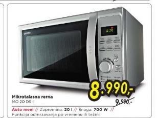 Mikrotalasna Rerna MO20DSII