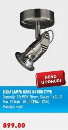 Zidna lampa Wand