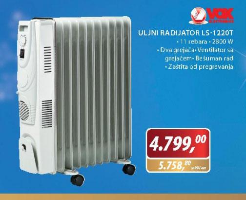 Uljni radijator LS-1220T
