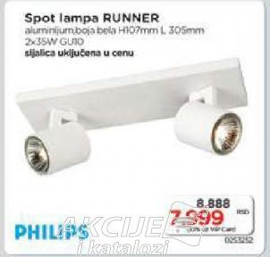 Spot lampa Runner
