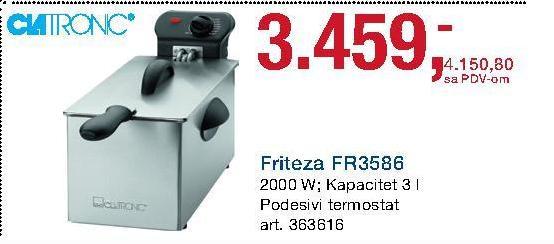 Friteza FR 3586