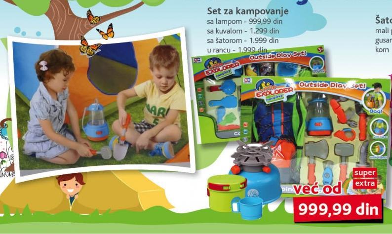 Igračka Set za kampovanje