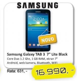 Tablet Galaxy Tab3 7.0 Lite Black