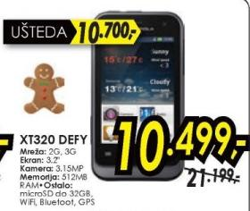 Mobilni telefon XT320 Defy mini
