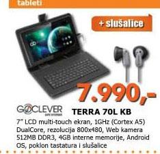 Tablet TERRA 70L KB