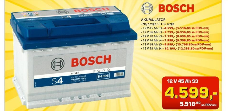 Akumulator S3 12V88Ah
