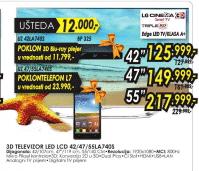 3D LED LCD 47LA740S + POKLON TELEFON L7