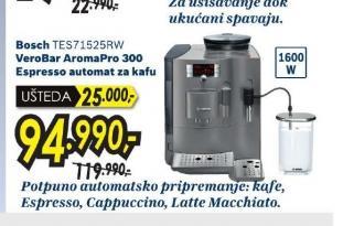 Aparat za espresso TES 71525RW