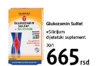 Dijetetski suplement Glukozamin sulfat i silicijum