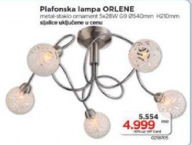 Plafonska lampa Orlene