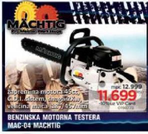 Benzinska Motorna testera MAC-04