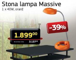 Stona lampa ''Massive''