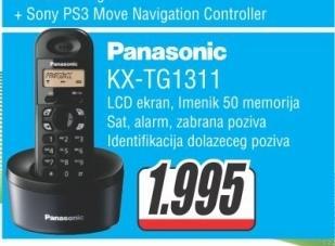 Fiksni Telefon KX-TG1311FXH
