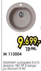 Sudopera X Granit M113004