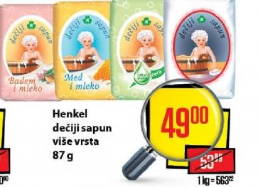 Dečiji sapun milk i honey