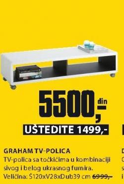 TV polica GRAHAM