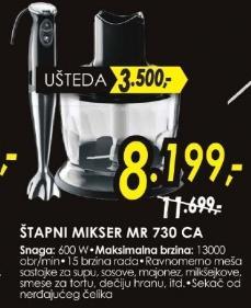 Štapni mikser MR 730 CA