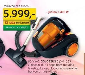 Usisivač CSS 4105A