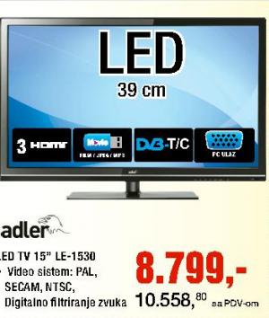 Televizor LED 15'' LE-1530