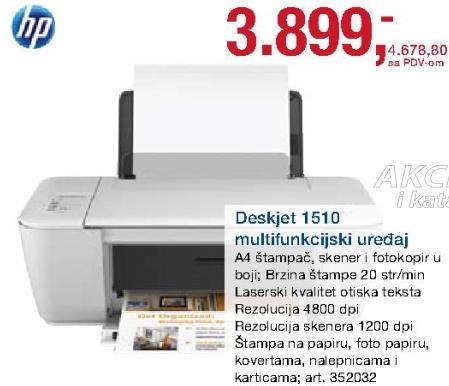 Multifunkcijski uređaj Deskjet 1510
