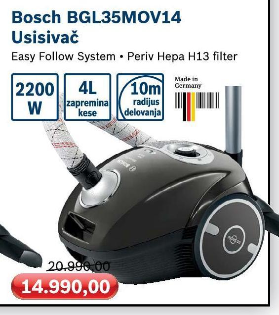 Usisivač BGL 35 MOV14
