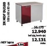 Kuhinjski element In Mdf Du100